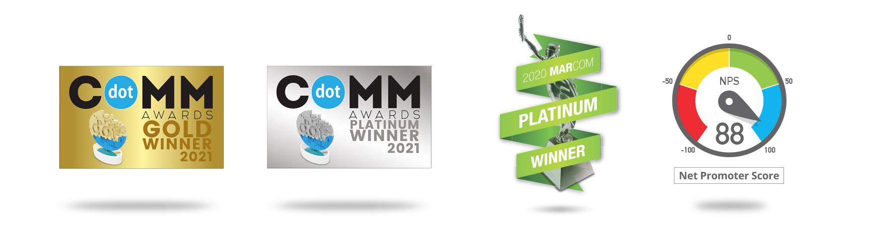 comunication partners awards