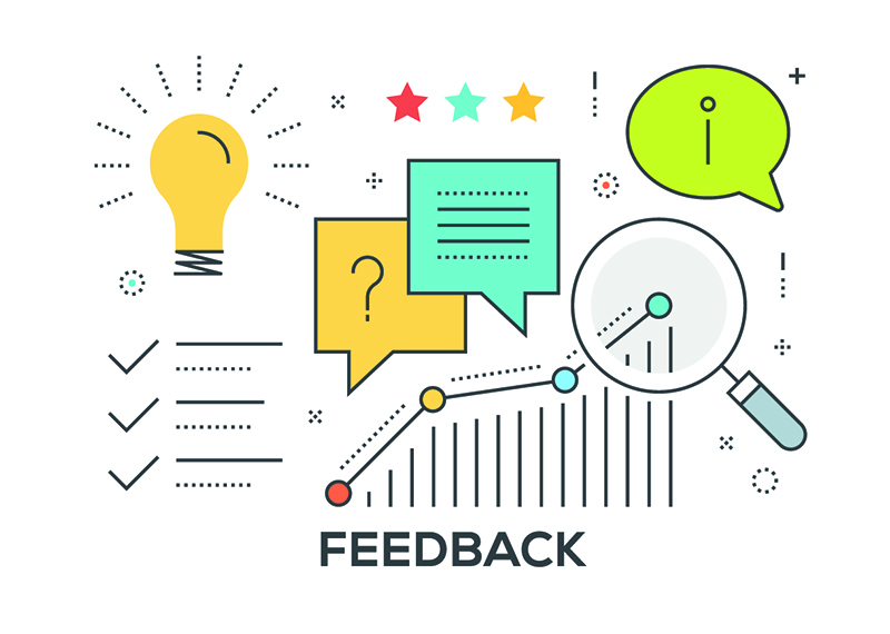 feedback graphs and questions